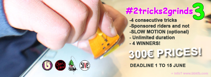 Third edition fingerboard online contest by Bubulka Fingerboard Store.
