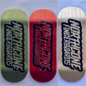 "NORTHCONE FINGERBOARD DECK LOGO ""NEW SHAPE 34"""