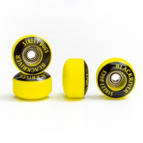 "BLACKRIVER WHEELS ""STREET DOG"" YELLOW"